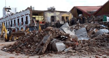 Se eleva a 96 el número de muertos por el sismo del jueves