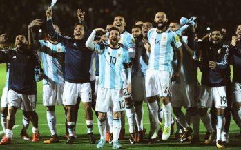 Con triplete de Messi, Argentina está en Rusia 2018
