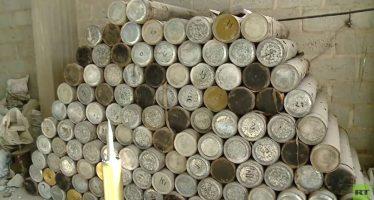 """Descubre RT """"arsenales enormes"""" del EI en Al Mayadeen"""
