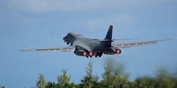 Bombardero estadounidenses B-1B, fotto especial