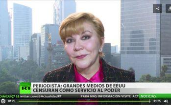 Estado Profundo, detrás de censura a RT: Celeste Sáenz de Miera
