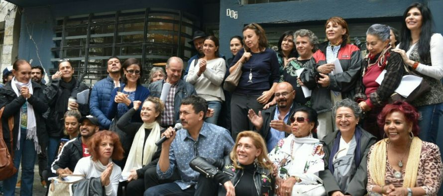 LecturaCantata Inconclusade Medardo Treviño apoyan actores y rinden homenaje a El Círculo Teatral