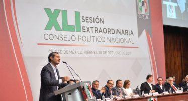 Convención de Delegados elegirá al candidato presidencial del PRI