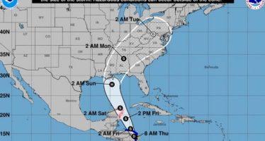 Nate podría convertirse en huracán el domingo próximo