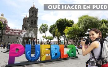 """""""Mucho ayuda el que nos visita"""", campaña de  turismo a Puebla"""
