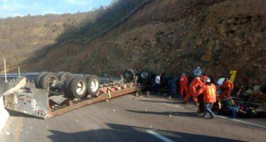 Cerrado Libramiento Amecameca-Alborada por accidente vial