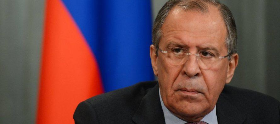 Lavrov acusa a EU de poner en peligro a militares rusos en Siria