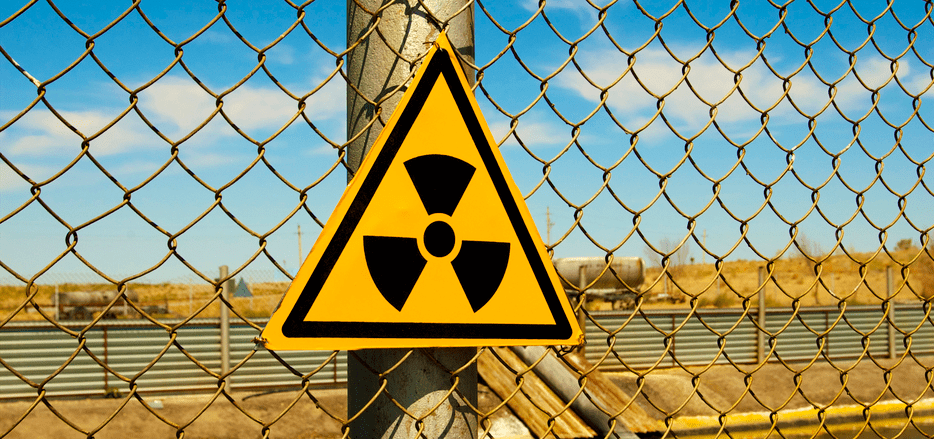 Logo de radiactividad. Foto tomada de quieninvento.org