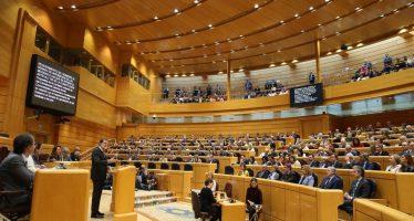 Senado español aprueba la intervención en Cataluña