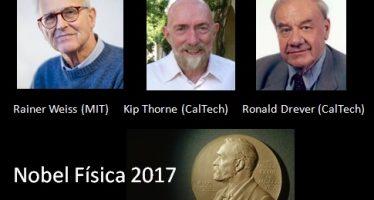 Científicos de MIT y Caltech ganan el Nobel de Física 2017