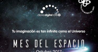 En octubre, Papalote Museo del Niño celebra el Mes del Espacio