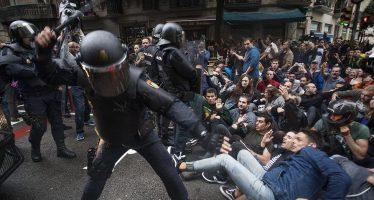 Al menos 460 heridos en referéndum catalán
