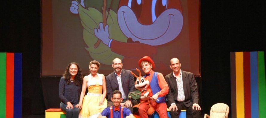 El Centro Cultural Helénico y Un rato para imaginar Producciones, presentan a: Mario Iván Martínez en:Que dejen toditos los sueños abiertos