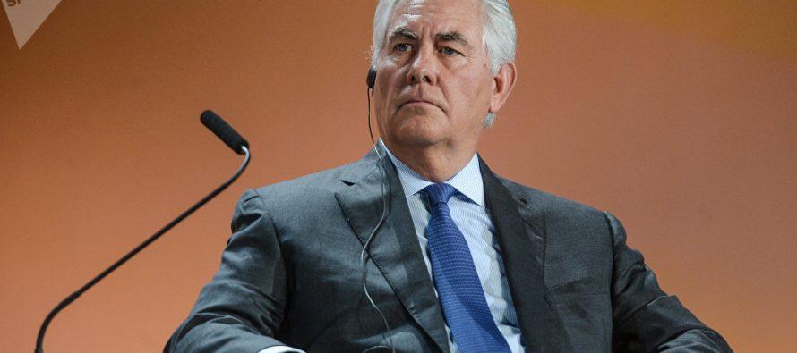 Tillerson se solidariza con Argentina por víctimas en NY