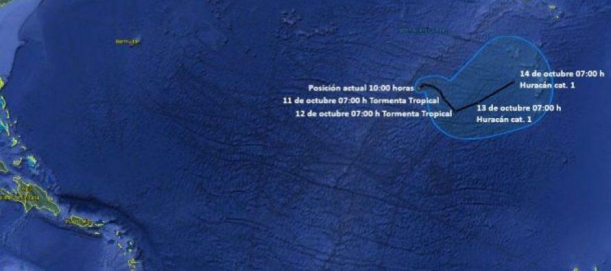 Ophelia podría convertirse en huracán en el Atlántico