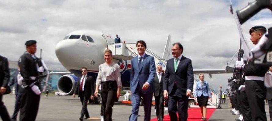 Luis Videgaray recibe al Primer Ministro de Canadá