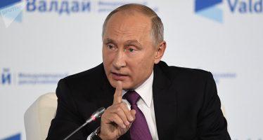 El mundo ha llegado a una época de cambios drásticos: Putin