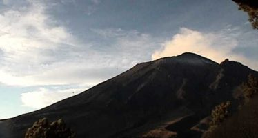 Autoridades prevén caída de ceniza volcánica en la ciudad de Puebla
