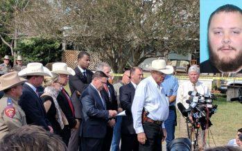 Asesino de fieles texanos carecía de permiso para portar armas