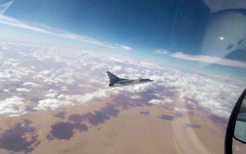 """Reconoce EEUU """"peligrosos acercamientos"""" con aviones rusos"""