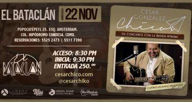 """César González """"Chico"""" presenta su nuevo sencillo """"No Tengo Más Amor"""""""