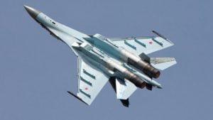 Cazabombardero ruso Su35S. Foto: Sputnik