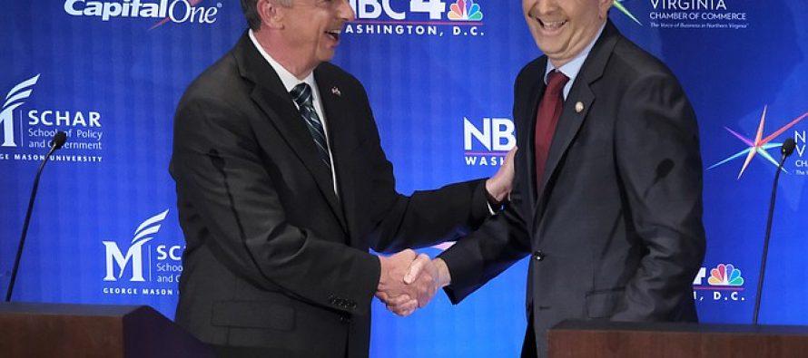 Reñida contienda para gobernador en Virginia