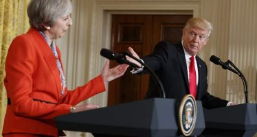 """Trump: """"en mí no, concéntrese en el terrorismo radical islámico"""""""