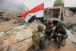 Ejército sirio en el norte de Deir Ezzor.Foto Prensa Latina