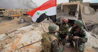 Ejército sirio contra el EI con apoyo de la FA rusa