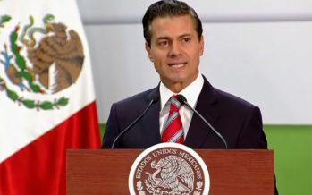 Celebra Peña Nieto aumento al salario mínimo