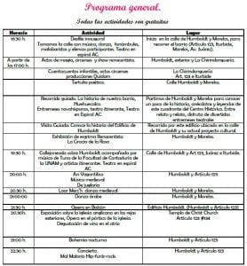Festival Cultural Huehuecalco 2