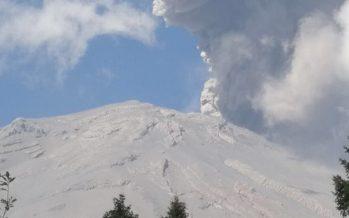 Popocatépetl presenta 188 exhalaciones de baja intensidad