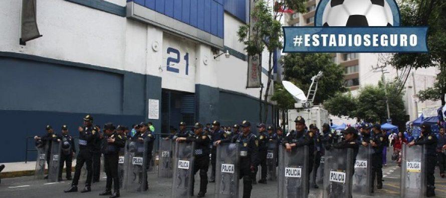 Más de dos mil policías garantizarán seguridad en partido Cruz Azul-América