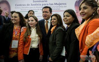 Violencia de género debe ser erradicada: Osorio Chong