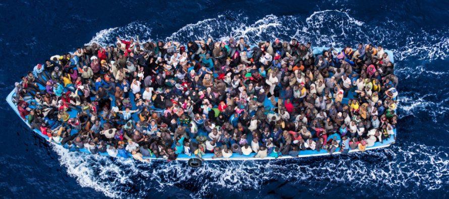 Casi 3.000 migrantes muertos en el Mediterráneo en 2017