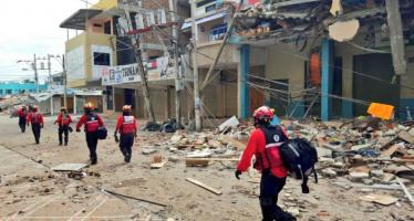Se registra un terremoto de 6,2 en Ecuador