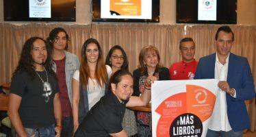 Convocan a romper el récord en la formación de la Espiral de Libros Más Grande del Mundo