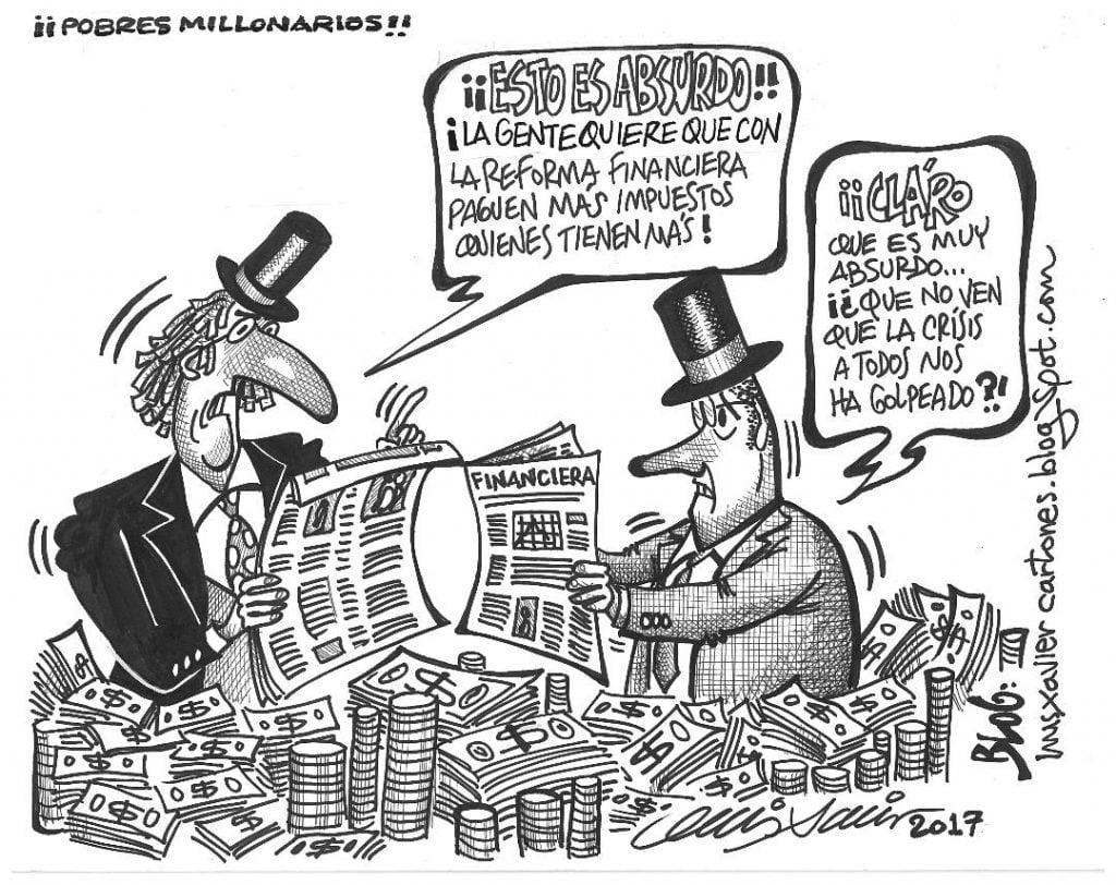 Hombres millonarios. Luis Xavier