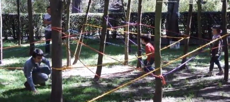 Karina Terán retará a los niños a descubrir su capacidad corporal creativa con el montaje interactivoQSC