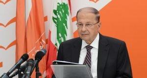 Presidente de Líbano, Michel Aoun. Foto: Voces del Periodista