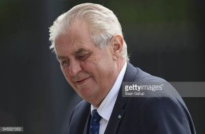 Milos Zeman. Foto: Sean Gallup/Getty Images