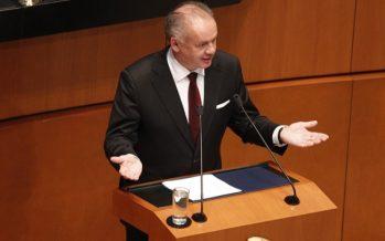 Populismo, por falta de prosperidad presidente eslovaco