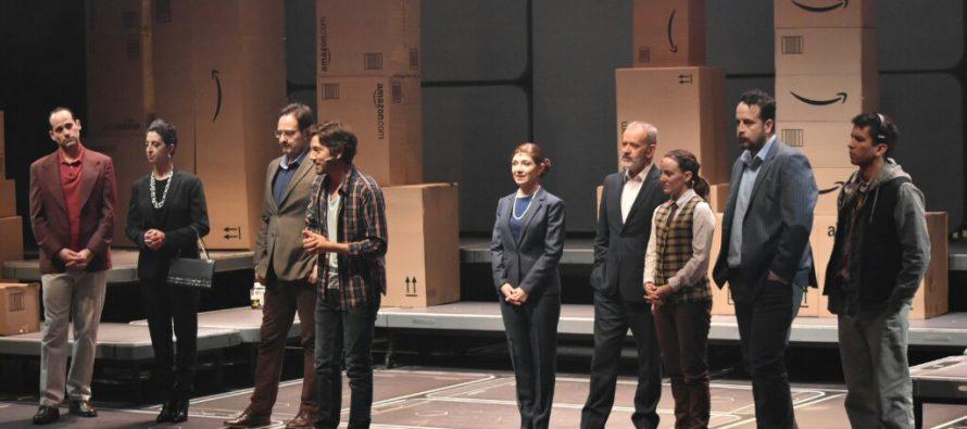 Diego Luna y Luis Gerardo Méndez presentanPrivacidaden el Teatro de los Insurgentes