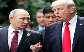 Vladimir Putin y Donald Trump. Foto: Agencia SANA