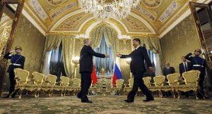 Rusia y China, más unidos que nunca. Foto:  Sputnik./Sergei Ilnitsky