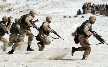 "EEUU planta una base militar en la antigua ""capital"" de Daesh"