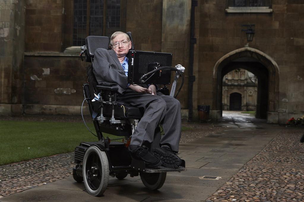 Stephen Hawking. Foto: Lwp Kommunikáció/Flickr