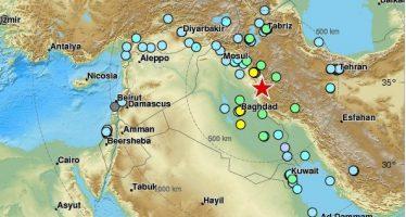 Fuerte terremoto sacude a Irán e Irak
