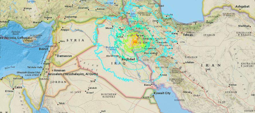 Suman 140 muertos y mil heridos, tras terremoto en Irán e Irak